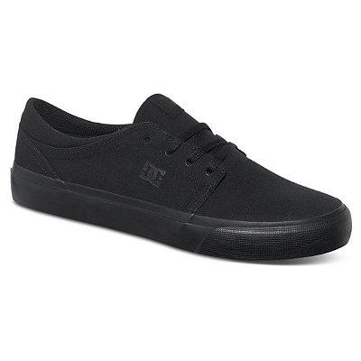 Tênis DC Shoes Trase TX Masculino Preto/Preto
