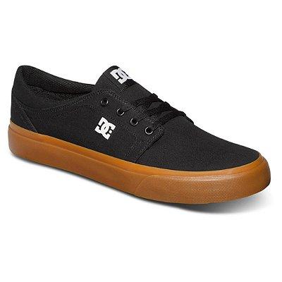 Tênis DC Shoes Trase TX Masculino Preto/Marrom