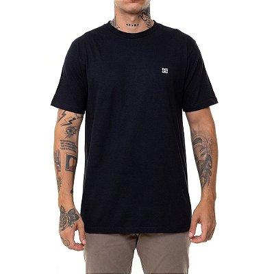 Camiseta DC Shoes Basic Logo Masculina Preto