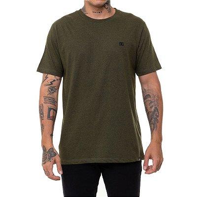 Camiseta DC Shoes Basic Logo Masculina Verde