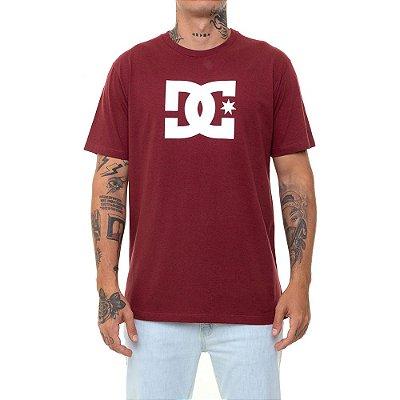 Camiseta DC Shoes Star Heather Masculina Vermelho