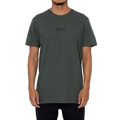 Camiseta RVCA Small Rvca Masculina Verde