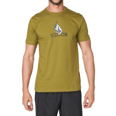 Camiseta Volcom Supple Masculina Verde