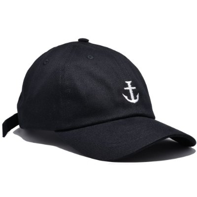 DAD HAT BOLT LOGO BLACK