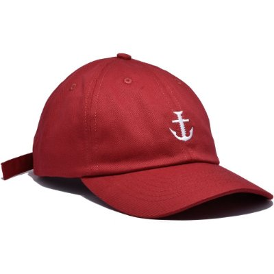 DAD HAT BOLT LOGO RED