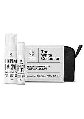 Kit Presente - Facial: Necessaire + Antipoluição Hidratante Facial 30g + Espuma Limpeza Facial 150ml CIA. DA BARBA
