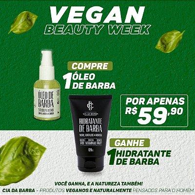 COMPRE Óleo de Barba GANHE Hidratante de Barba