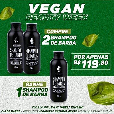 COMPRE 2 Shampoos de Barba GANHE o terceiro grátis