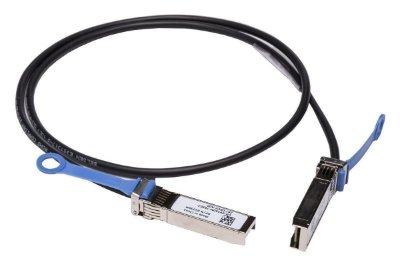 Cabo Dell Cobre Twinaxial Conexão Direta de Malha Cabo SFP+ Para SFP+ Dell Networking 10GBE - Até 1m - Cuskit - V250M