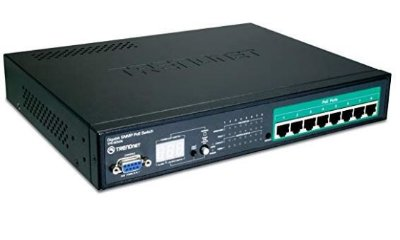 TPE-80WS Switch Trendnet Web Smart Gigabit 8X Poe 10/100/1000Mbps RJ45