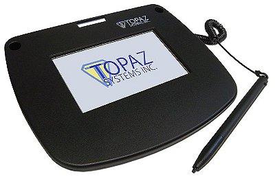 Coletor de Assinatura Topaz Systems T-LBK43LC Modelo Série Siglite Color 4.3