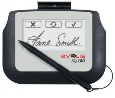 Prancheta de Assinatura Evolis SIG100 (BUNDLE SIG100 + SIGNOSIGN)- ST-BE105-2-UEVL-MB1