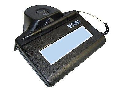 Coletor de Assinatura Topaz Systems TF-LBK464 Modelo Série IDGEM LCD 1X5 Com Biometria