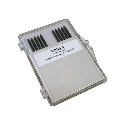 A-PT01-5 - Ponta de Caneta de Plástico Topaz Para T-S751, Caixa com 10 Unidades