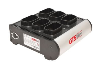 HCH-9006-CHG - Carregador de Bateria GTS 6 Compartimentos Modelos Symbol MC9000