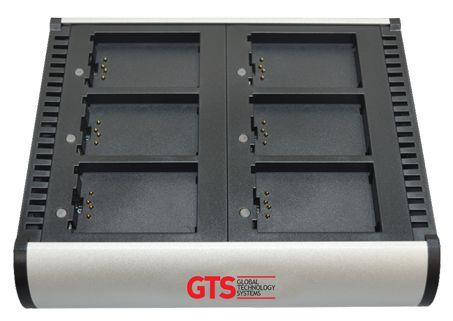 HCH-7006-CHG - Carregador de bateria GTS 6 Compartimentos Para Symbol MC70/MC75