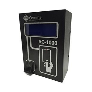 AC-1000 Controlador de Acesso por Mifare e Biometria com 4 entradas e 4 saídas