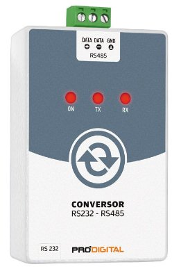 Conversor RS232-RS485 Prodigital - IF-3