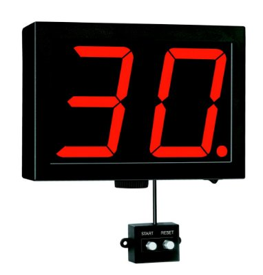 CP-5 - Cronômetro Digital Progressivo 2 Dígitos Prodigital - Alcance 40 Metros
