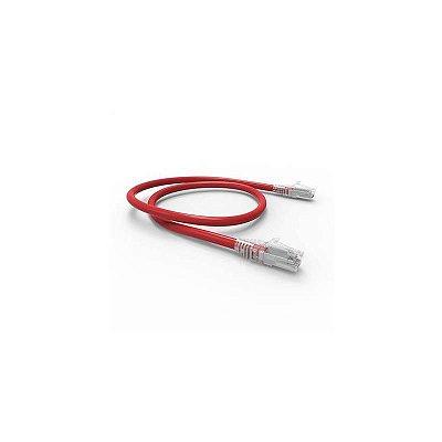 35123301 - Patch Cord U/UTP Gigalan CAT.6 CM T568A 1.0M Vermelho Furukawa