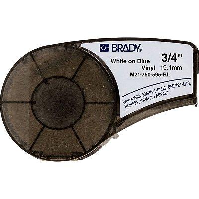 M21-750-595-BL - Etiqueta Para BMP21 Series Brady