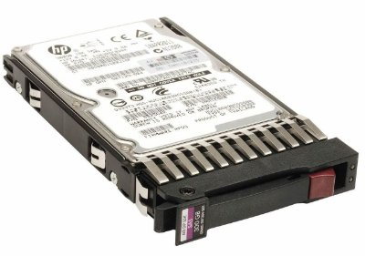 507127-B21 - HD Servidor HP 300GB 6GB 10K 2,5 SAS
