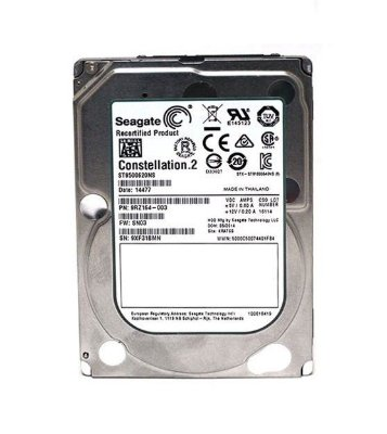 ST9500620NS - HD Servidor Seagate 500GB 7,2K 2,5 SP 6G SATA