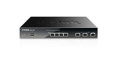DWC-1000 D-Link Controladora Wireless 4x 10/100Mbps RJ45 + 2x USB (Controla até 6 Pontos Acesso)
