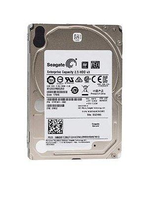 ST2000NX0253 - HD Servidor Seagate ENT 2TB 7.2K 2.5 6G 512e SATA