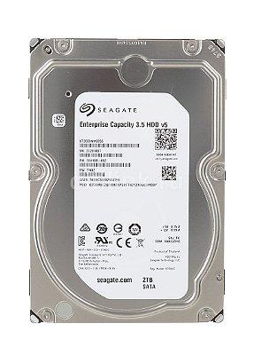 ST2000NM0055 - HD Servidor Seagate ENT 2TB 7.2K 3.5 6G 512n SATA