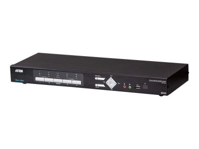 CM1164A Switch USB DVI Multi-View KVMP™ de 4 portas