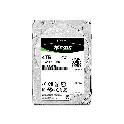 ST4000NM0055 - HD Servidor Seagate ENT 4TB 7.2K 3.5 6G 4Kn SATA