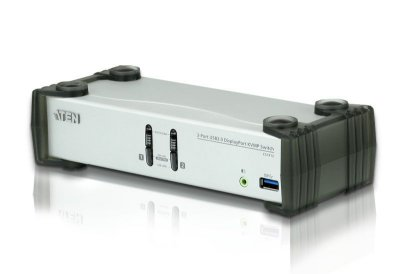 CS1912 Switch USB 3.0 DisplayPort KVMP™ de 2 Portas (Cabos incluídos)