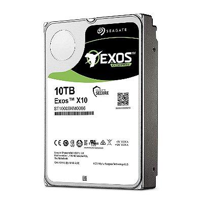 ST10000NM0086 - HD Servidor Seagate ENT 10TB 7,2K 3,5 6G 512e SATA