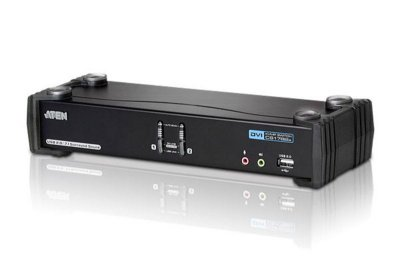 CS1782A Switch USB DVI Dual Link/CH7.1 Audio KVMP™ de 2 portas