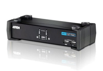 CS1762A Switch USB DVI/Audio KVMP™ de 2 portas