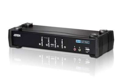 CS1764A Switch USB DVI/Audio KVMP™ de 4 portas