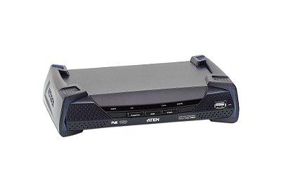 KE8952R Receptor KVM sobre IP 4K de exibição única HDMI com PoE