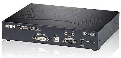 KE6900T Transmissor KVM de exibição única USB DVI-I sobre IP