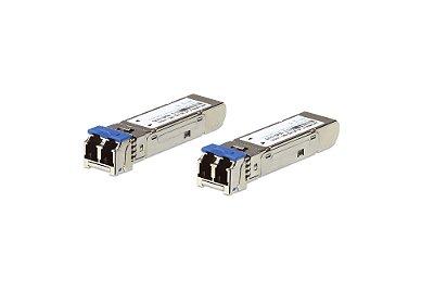 2A-136G Módulo transceptor SFP de modo múltiplo de 1,25G de fibra (550M) (2 peças por pacote)