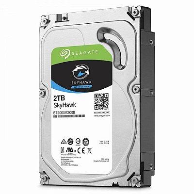 """ST2000VX008 - HD Vigilância Seagate SKYHAWK 2TB 5.9RPM 3,5"""" SATA 6GB/S"""