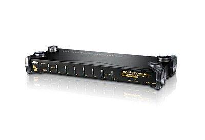 CS9134 Comutador KVM PS / 2 VGA de 4 portas