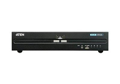 CS1142H Comutador KVM seguro de exibição dupla USB HDMI de 2 portas (compatível com PSS PP v3.0)