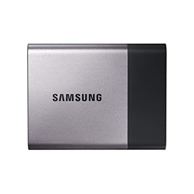 MU-PT500B Disco Rígido Portátil SSD Samsung T3 - 500 GB - MU-PT500B / AM