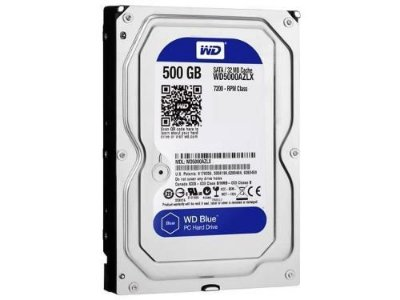 WD500AZLX HD WESTERN DIGITAL 500GB 32MB 7200 RPM
