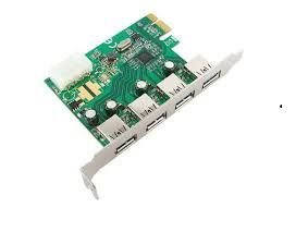 9212 Placa PCI Express - 4 Portas USB 3.0