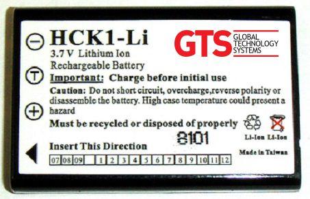 HCK1-LI - Bateria GTS Para Scanner Intermec CK1