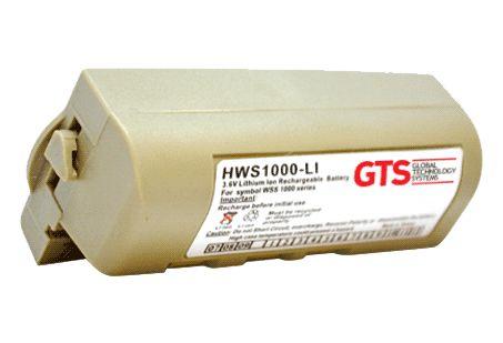 HWS1000-LI (20) - Bateria GTS Para Série WSS1000 da Symbol
