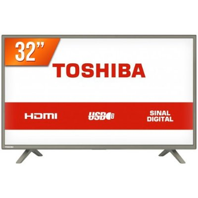TV 32L1800 TV 32P TOSHIBA LED HD USB HDMI (MH)