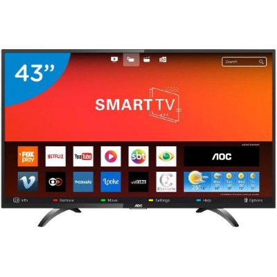 LE43S5970S TV 43P AOC LED SMART WIFI FULL HD USB HDMI
